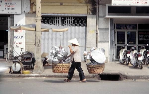Mekong-floden, arbejdsplads og badeanlæg